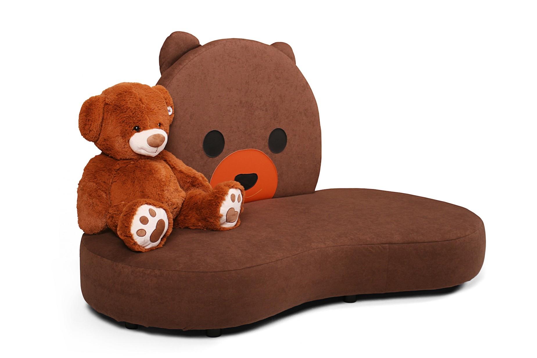 kindersofa mit teddy motiv kuschelinsel kinic kindersofas. Black Bedroom Furniture Sets. Home Design Ideas
