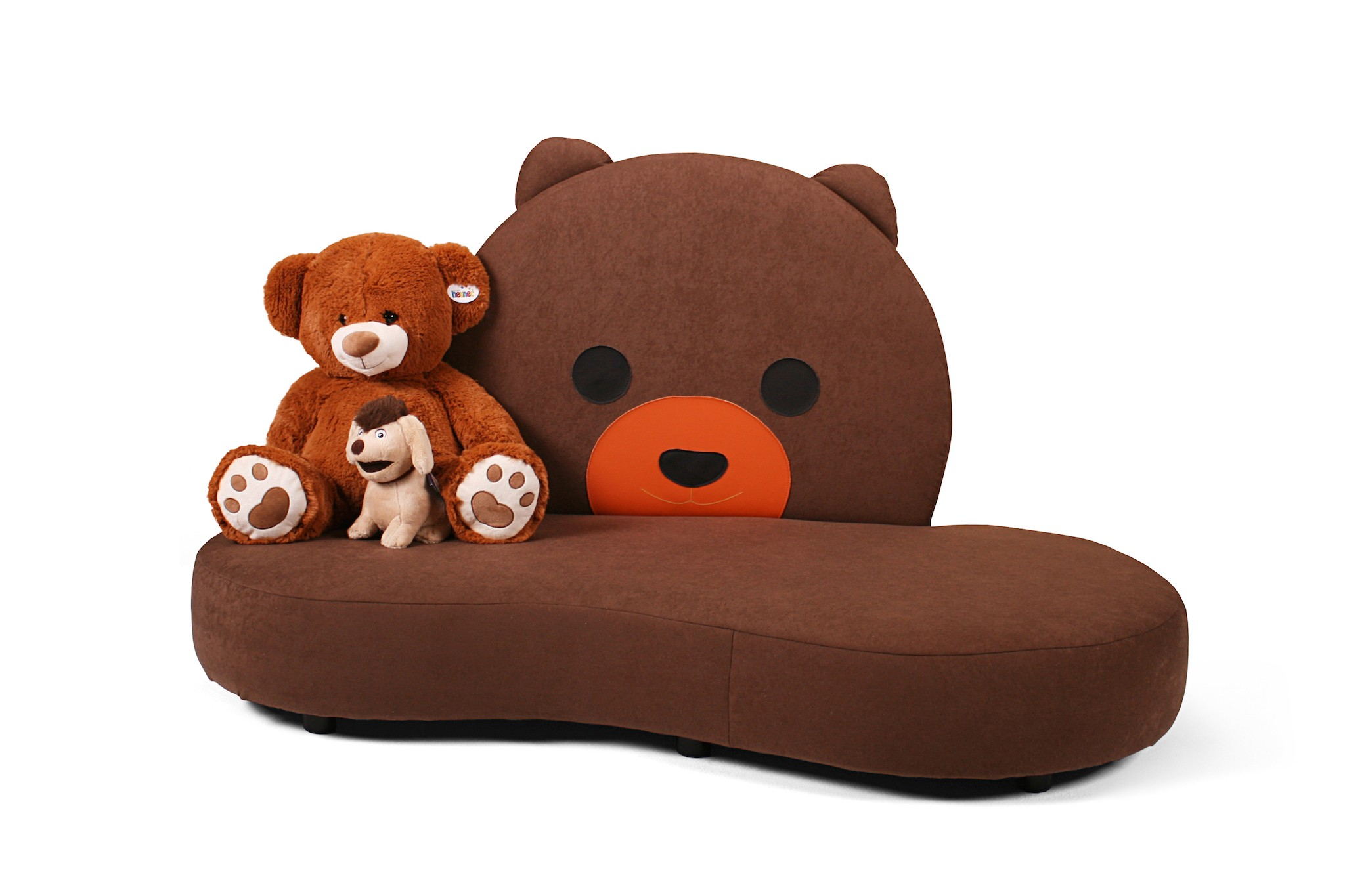 kindersofa mit teddy motiv kuschelinsel kinic kindersofas. Black Bedroom Furniture Sets. Home Design Ideas