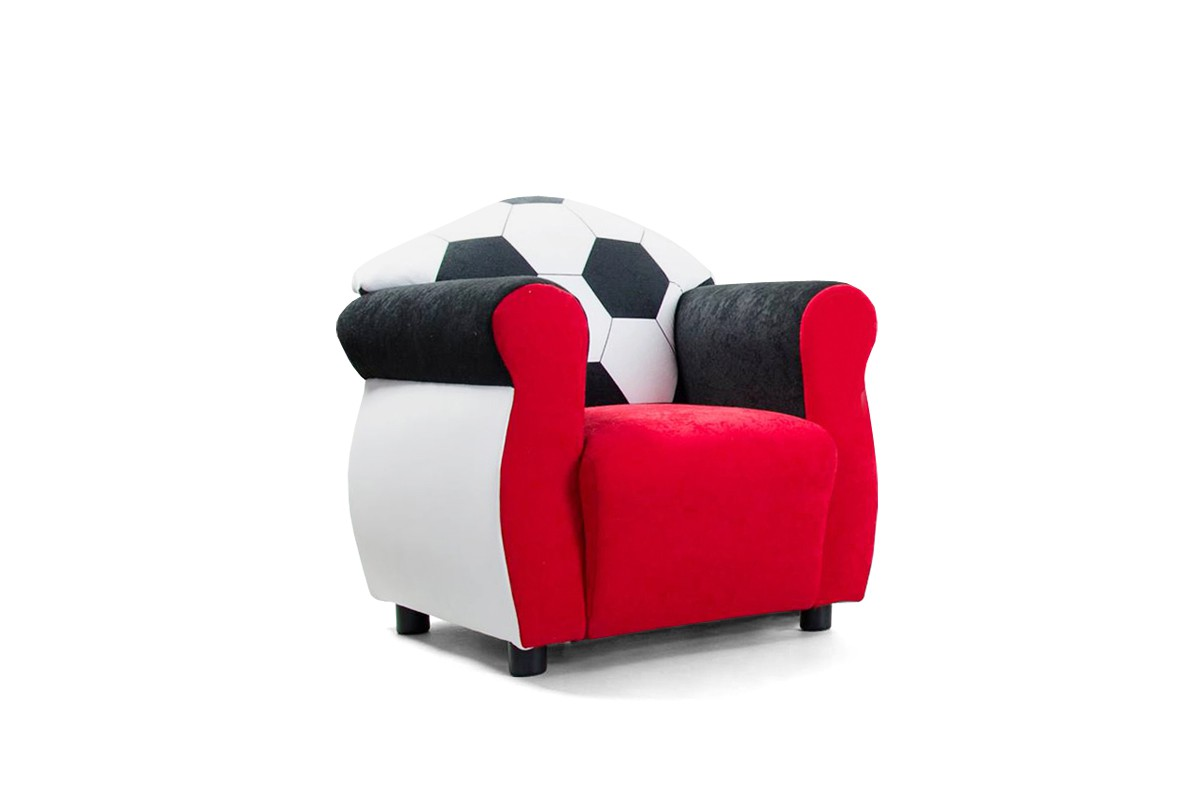 kindersessel f r fu ball fans kindersofas. Black Bedroom Furniture Sets. Home Design Ideas